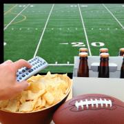 Watching Super Bowl