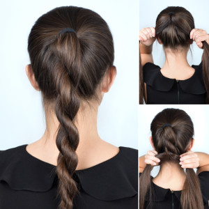 Simply Twist Ponytail